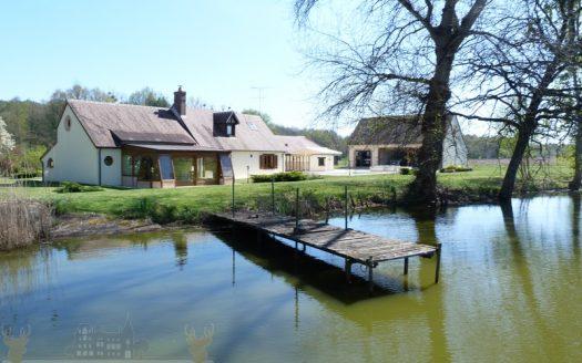 A Vendre Propriété avec étang sur 7HA - Propriétés de Sologne