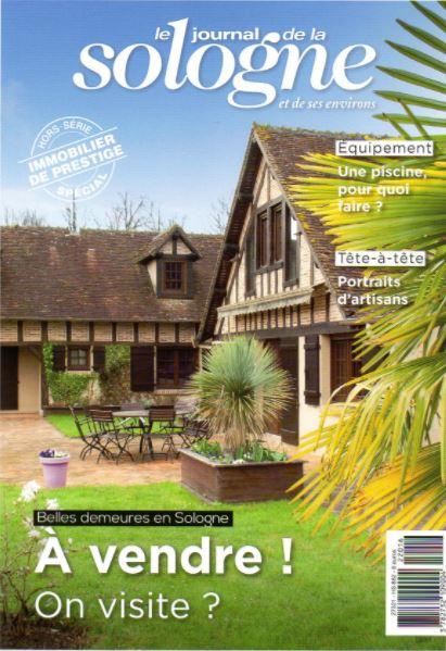 Le Journal de Sologne - Reportage Propriétés de Sologne