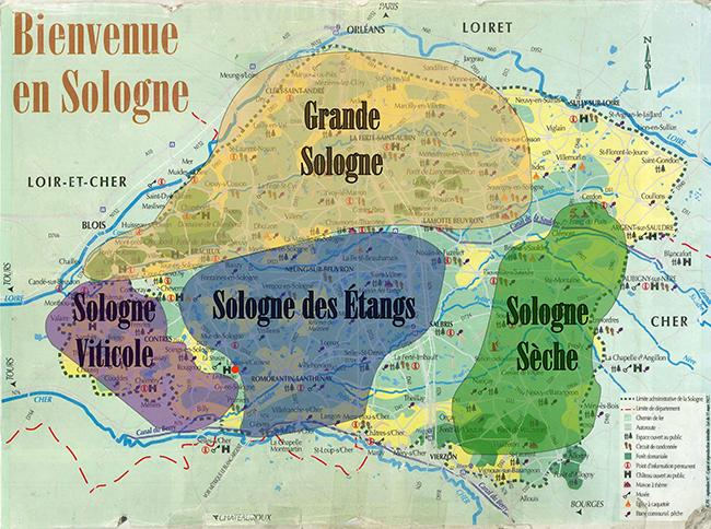 carte_de_sologne_bienvenue_en_sologne_acheter en sologne